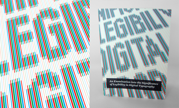 David Bushell - Digital Legibility - Front cover.