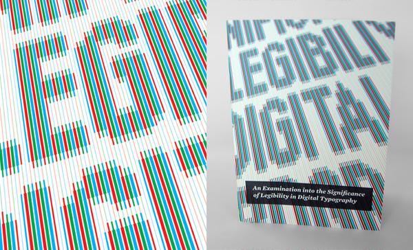 David Bushell - Digital Legibility - Front cover.