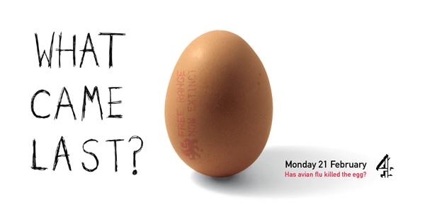 David Bushell - The Last Egg - 48 sheet billboard.